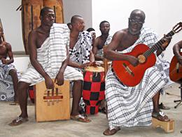 Musiker in Ghana