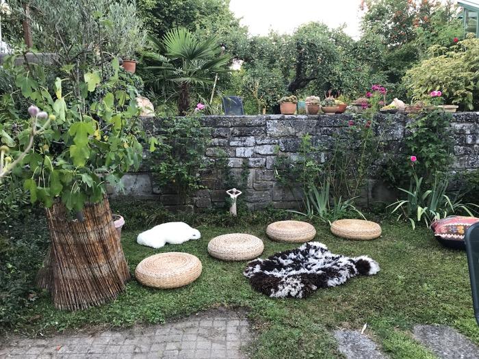 Gongkonzert im Freien